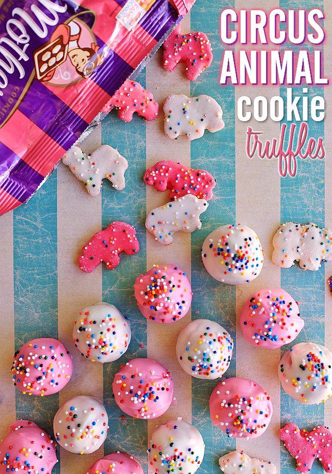 Circus Animal Cookie Cake Pops
