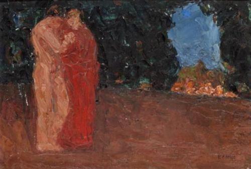The lovers - Emmanuel Zairis