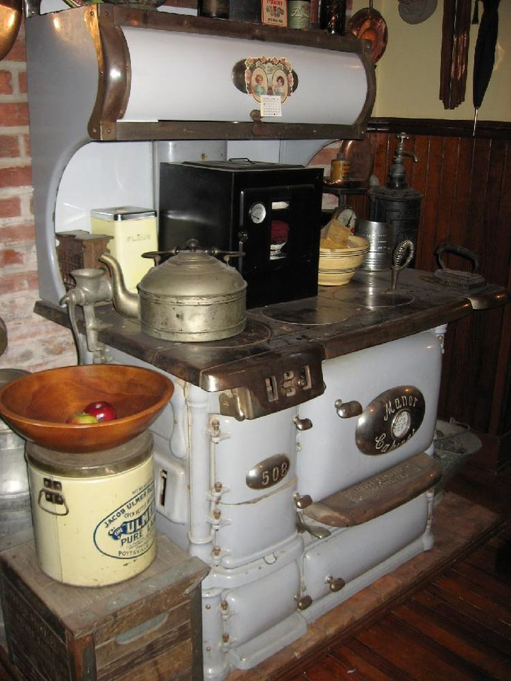 Stegmaier Mansion Kitchen Antique Stove Wilkes Barre