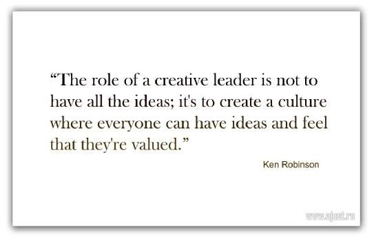 creativity and the role of the leader pdf