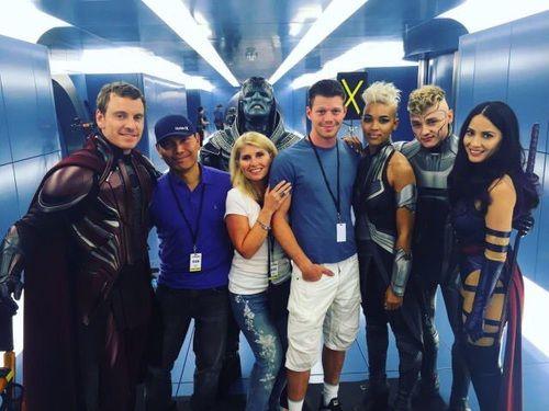 Michael Fassbender / X-Men: Apocalypse cast