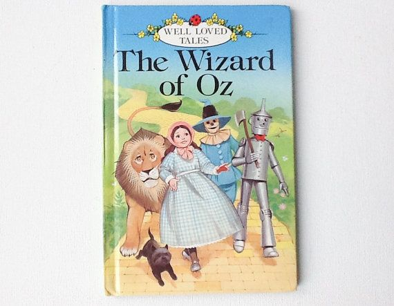 vintage the wizard of oz book ladybird well loved tales. Black Bedroom Furniture Sets. Home Design Ideas
