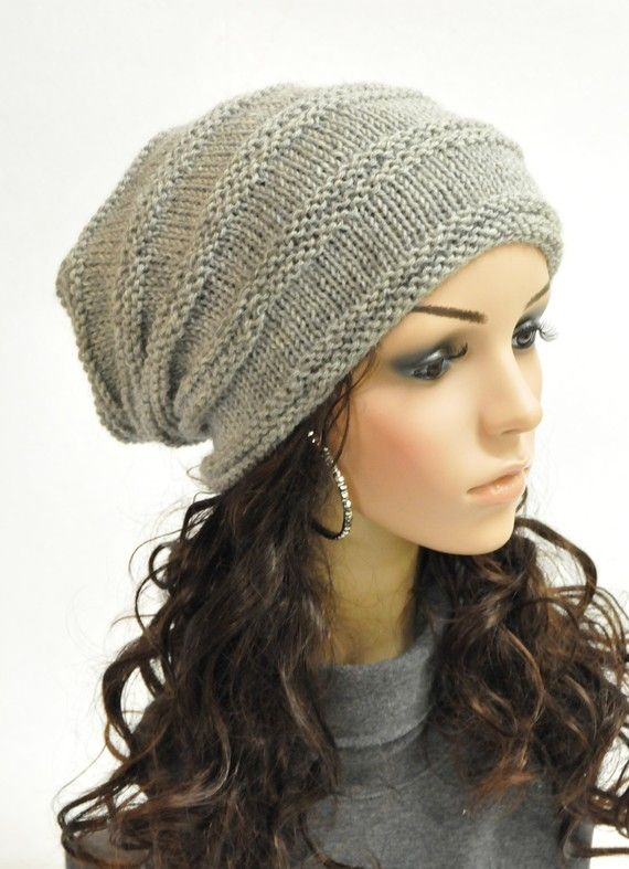 Slouchy Hat - when my hair gets longer
