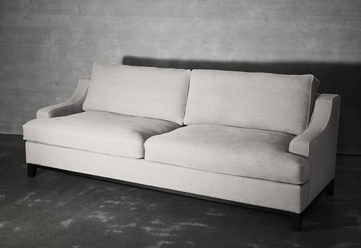 Layered's  Imperial Sofa Off White. A classic and timeless design that never goes out of style. Comfortable yet refined, the Imperial Sofa is created with delicate lines. With excellent comfort combined with quality, this sofa is the epitome of modern elegance. Europe Free Shipping. See more at: http://layeredinterior.com/product/imperial-sofa-2/