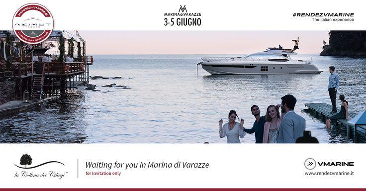 Siamo in partenza per Marina di Varazze! Dal 3 al 5 giugno i nostri vini accompagneranno l'esclusivissimo evento organizzato da V Marine, dealer Azimut Yachts, dedicato agli armatori Azimut Yachts e ai clienti Maserati. Con un parterre così d'eccellenza potevano forse mancare i nostri vini?