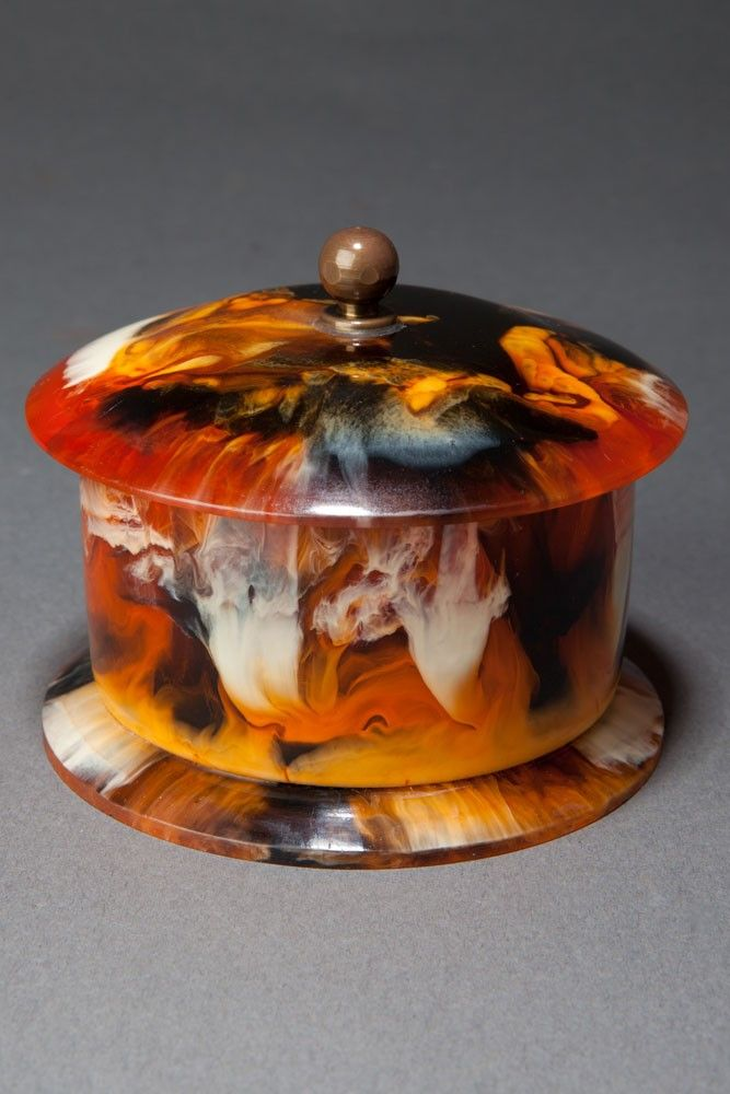 Beautiful Catalin Bakelite Box in Rare u201dEnd of Dayu201d Color. Intensely marbled. & 62 best Bakelite Boxes images on Pinterest | Jewelry box Box and ... Aboutintivar.Com
