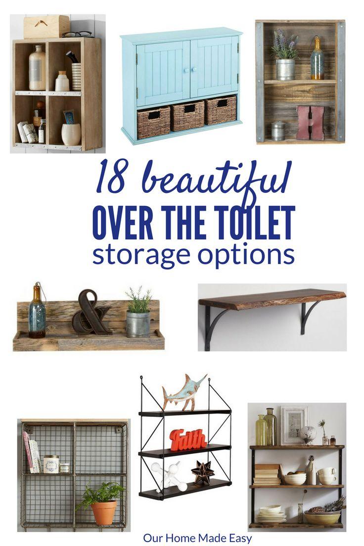 Over The Toilet Bathroom Shelves 25 Best Ideas About Over Toilet Storage On Pinterest Toilet