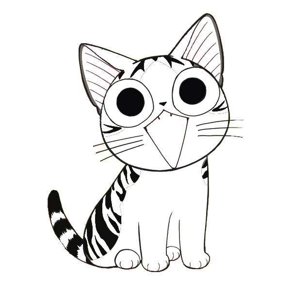 Coloriage CHI, une vie de chat ! | Chat a colorier, Coloriage chaton et Coloriage chat