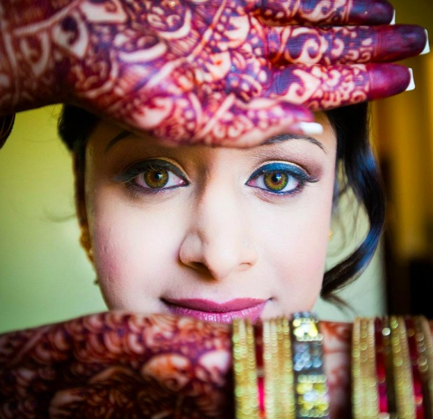 Makeup by Sonia   www.dollfacelooks.com   #dollface #makeup #sonia #drama #MAC #chicago #indian #bride #south asian #wedding