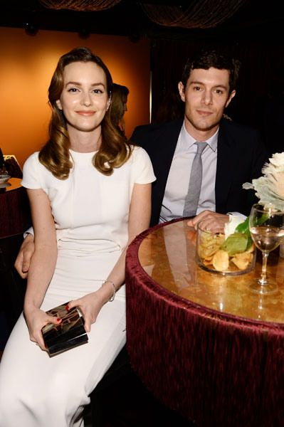 Cute couple Leighton Meester and Adam Brody used the occasion to make their maiden post-nuptials outing.