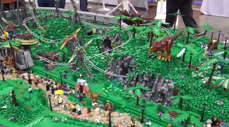 Jurassic Park: LEGO roller coaster | SyfyWire