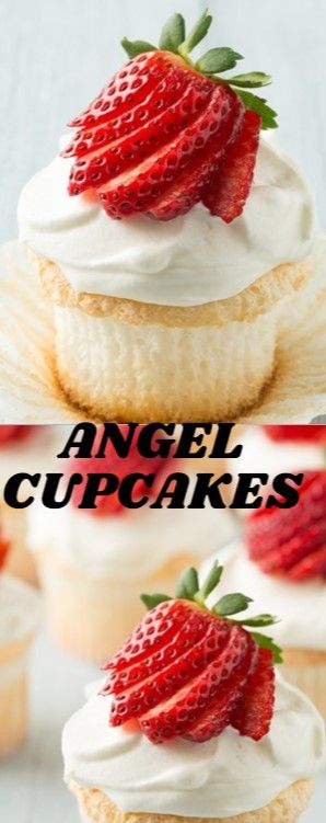Angel Cupcakes  The cupcakes of Heaven. It's easygoing to see where Supporte…