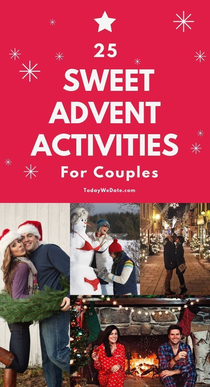 25 Very Merry Christmas Advent Activities For Couples Todaywedate Com Advent Activities Christmas Gifts For Couples Countdown Activities