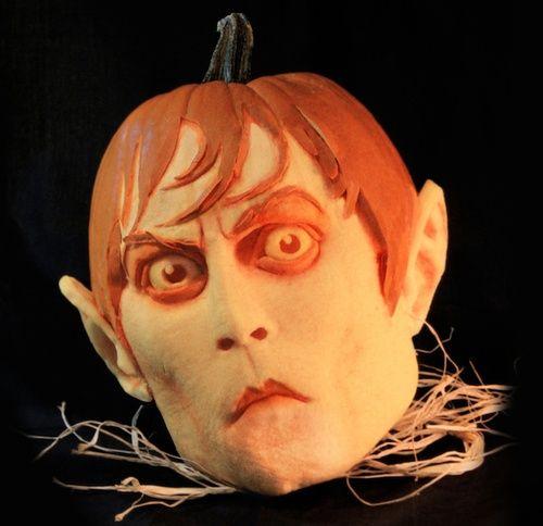 Best Pumpkin Faces | Best pumpkin ever - Johnny Depp's face! ... | Halloween - your fas...