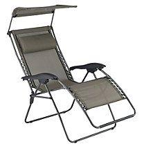 Zero Gravity Patio Chair with Canopy