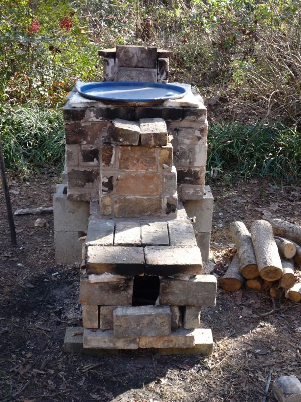 how to build a wood kiln