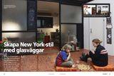 Skapa New York-stil med glasväggar
