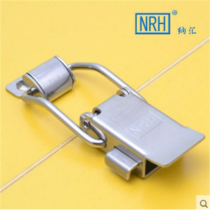 NRH 5808A stainless steel toggle latch Factory direct sales a pair of draw latch for road case Heat insulation box draw latch