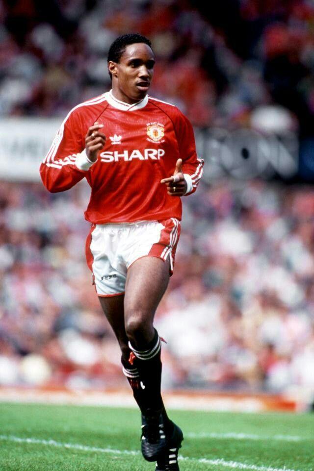Paul Ince of Man Utd in 1991.