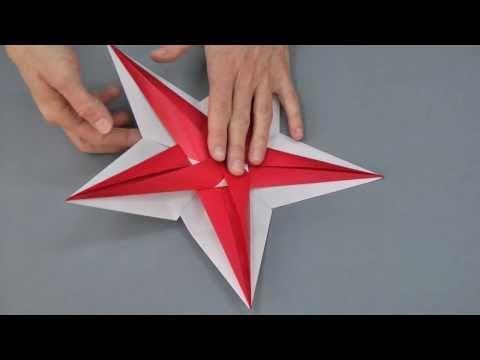 In diesem Video zeige ich Dir, wie Du den Stern aus der Landlust Ausgabe November/Dezember 2013, der von der Japanischen Origami-Künstlerin Tomoko Fuse stammt, faltest.