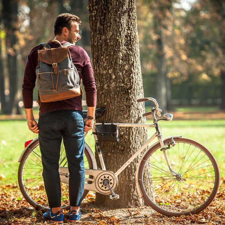 A backpack that you will love immediately, ideal for everyday use and occasional special trips around the world.
