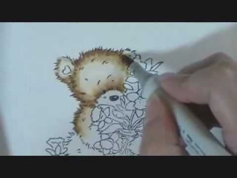 a quick copic video on coloring fur by Suzanne J Dean!  Using a Popcorn Bear from www.paperromance.com.  Visit my blog at www.scrapbitz.blogspot.com for more info!  Want to learn to use copics? Visit my online Classroom Color Me Creative Classroom at www.scrapbitzcopics.ning.com