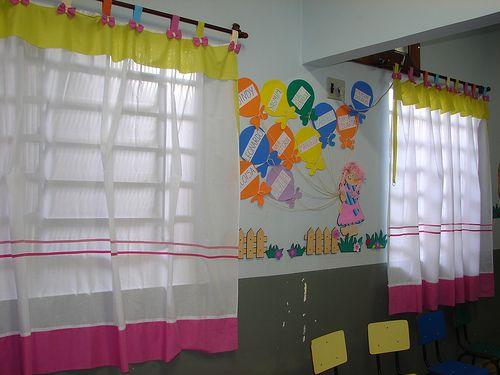 PREESCOLARES: ideas para decorar el aula | ambientación de aula ...