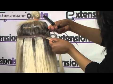 48 best tape in extensions images on pinterest beauty tips how to install tape in extensions bouncy waves tutorial extensionista pmusecretfo Image collections