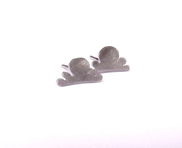 Ciemne Chmury - kolczyki srebro 925 w Dawid Pandel na DaWanda.com
