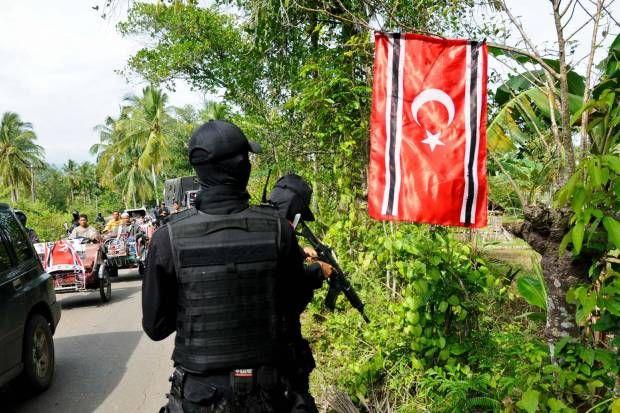 Bendera Gerakan Aceh Merdeka (GAM) Berkibar Lagi
