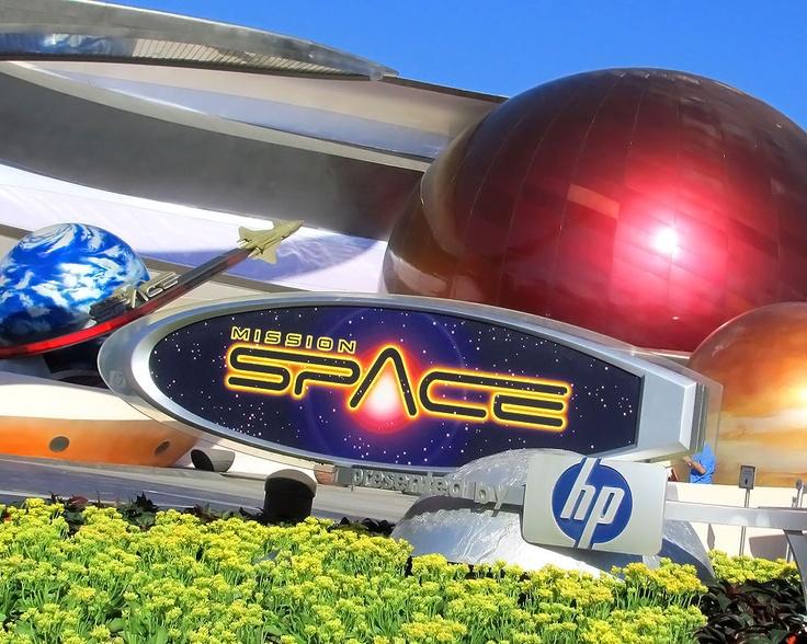 Walt Disney | Epcot | Mission Space