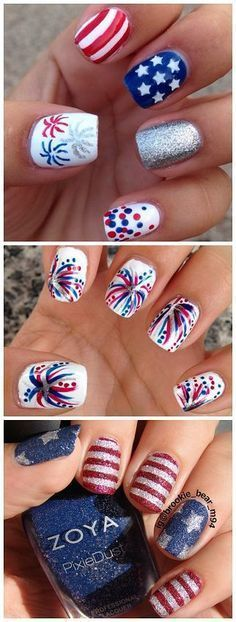Best 25 4th of july nails ideas on pinterest july 4th nails 15 patriotic 4th of july nail designs love these follow driskotech on pinterest prinsesfo Choice Image