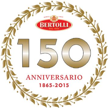 Wish Bertolli® a happy birthday and you'll be entered for a chance to WIN 1 of 3 trips for two to Italy. Visit bertolli.ca/150 to send us a picture, a message or your favourite Bertolli® recipe and you'll be entered in the contest. Enter between May 1st and July 31st. Come celebrate with us. Next time you cook for family or friends, give them some Bertolli® flavour with a roasted tomato and zucchini tower with basil