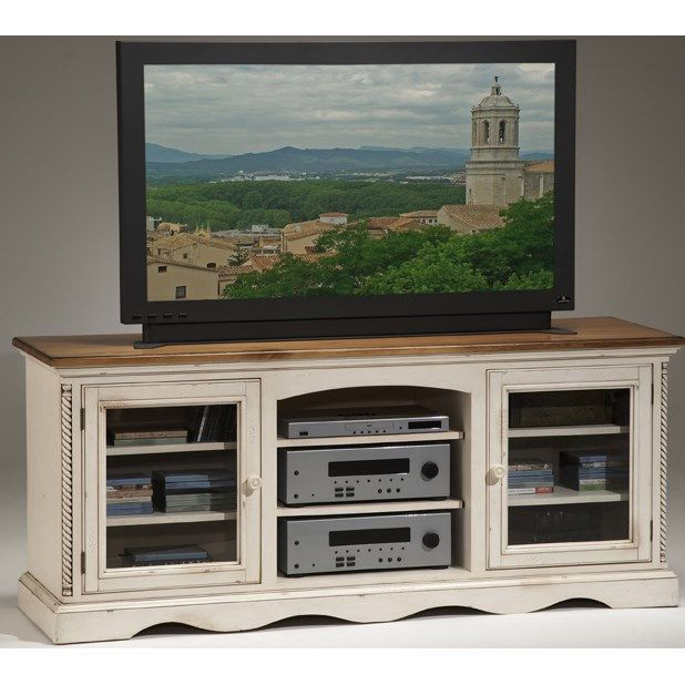 Hillsdale Furniture 4508-880 Wilshire Entertainment Console in Antique White - 839 Best MEDIA CENTER Images On Pinterest Media Center, Mantels