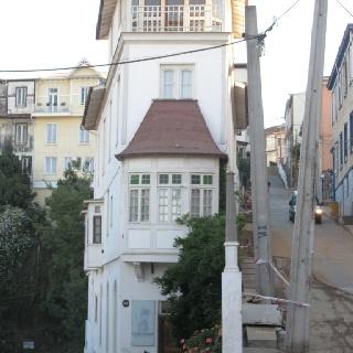 Valparaiso. La casa del Capitán Memo, en Cerroalegre