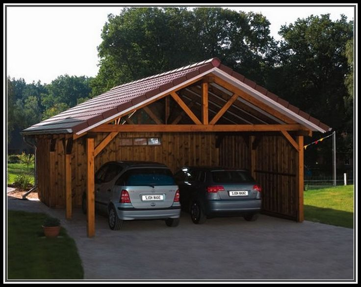 The 25 best wood carport kits ideas on pinterest for Diy garage packages