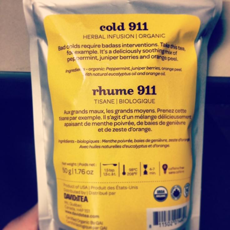 Cold 911 - Davids Tea