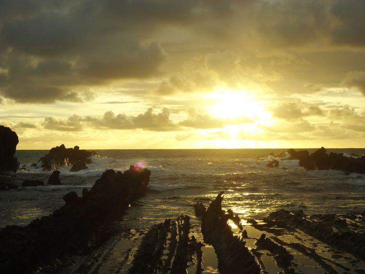 Sunset at Tanjung Layar, Sawarna, west Java