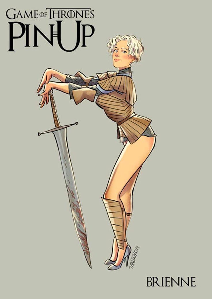 Les personnages de Game of Thronesinspirent décidément beaucoup les illustrateurs ! Aprèslaversion années 90,laversion Art Nouveau ou la version m