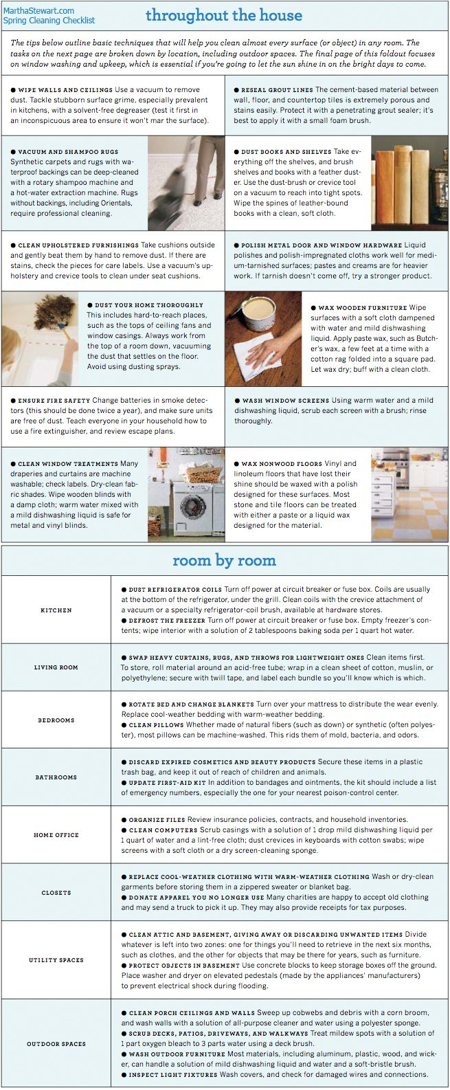 25 best ideas about spring cleaning list on pinterest spring cleaning checklist spring. Black Bedroom Furniture Sets. Home Design Ideas