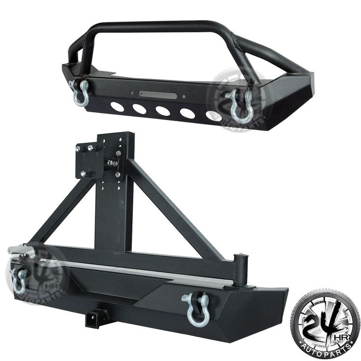 Rock Crawler Front Bumper+Rear Bumper w/D-rings for 87-06 Jeep Wrangler TJ YJ | eBay Motors, Parts & Accessories, Car & Truck Parts | eBay!