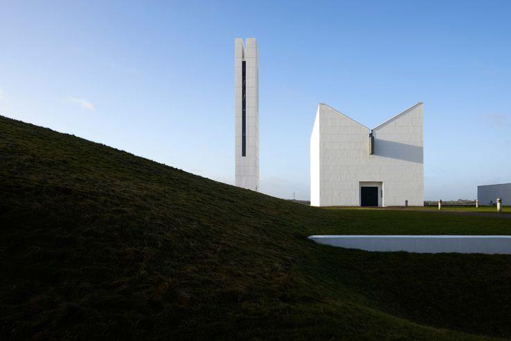Enghøj Church and Bell Tower, near Randers, Denmark. Shot by Martin Schubert