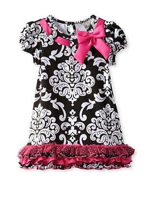 66% OFF Rare Editions Girl's 2-6X Toddler Print Dress (Black/White)