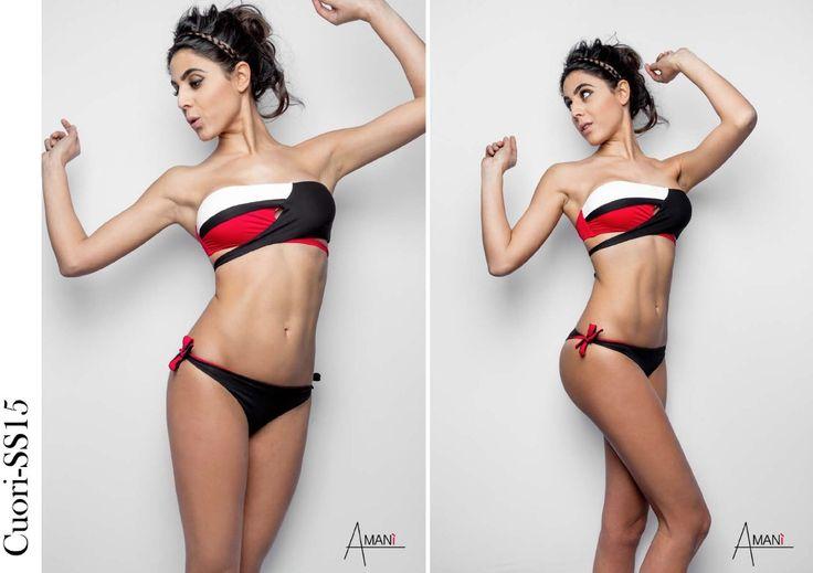 Bikini Made in Italy swimwear i Modello Cuori un costume da bagno unico e moderno Amanì Amaniswimwear www.amaniswimwear.com  Instagram Amaniswimwear  Facebook Amanì
