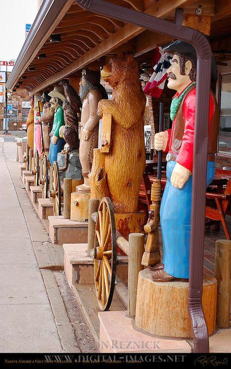 Native America Gift Shop, Route 66 -  Williams, Arizona