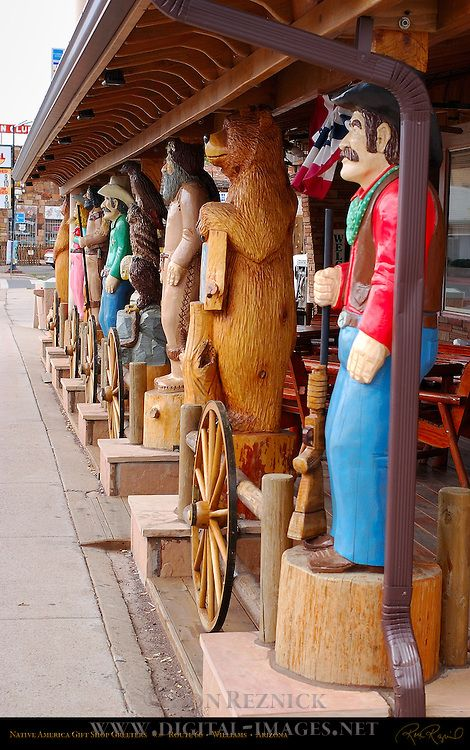 Native America Gift Shop, Route 66 -  Williams, Arizona