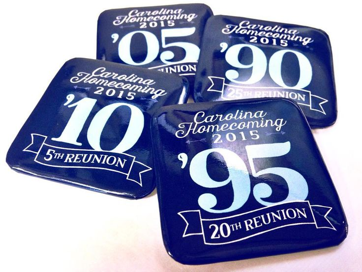 Did you miss your reunion this weekend? Email homecoming@unc.edu to get your class button. #UNCAlumni #UNCHC by uncgaa