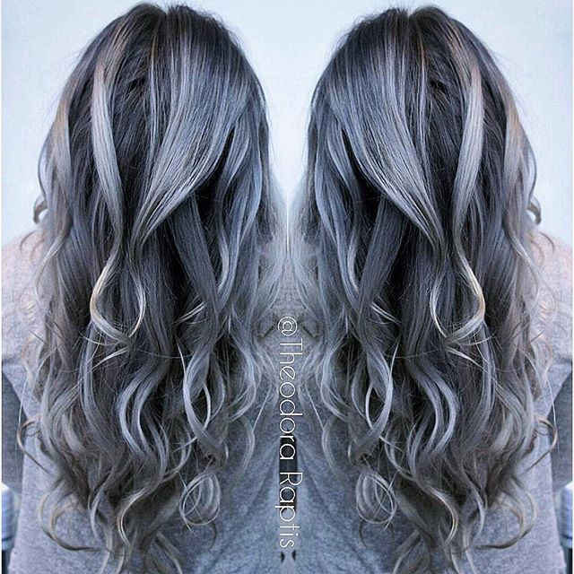 18 besten Graue Haare Bilder auf Pinterest   Haar und ...