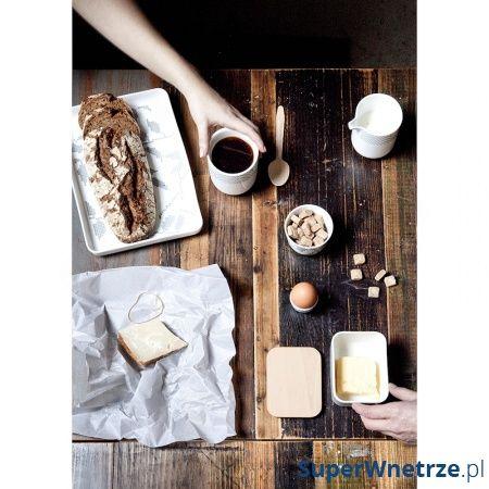 Taca do serwowania Menu Grey Leaves prostokątna 4599050