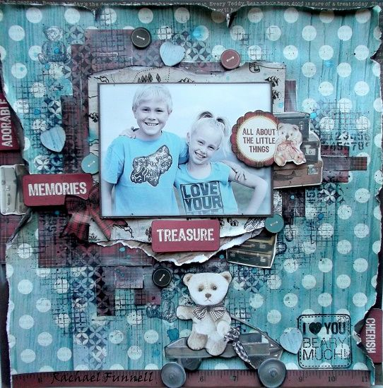 Kaisercraft - Teddy Bear's Picnic - Rachael Funnell